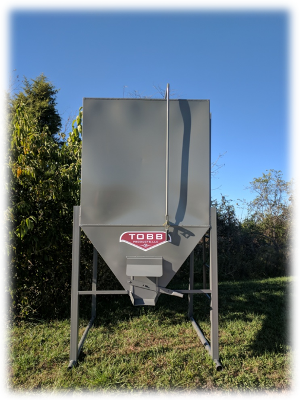 Bulk Grain Bins 3 Ton & 5 Ton | TOBB Products LLC